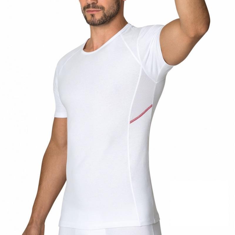 Pánské tričko NUR DER Cotton 3DFlex AIR - bílá  14035fc17c