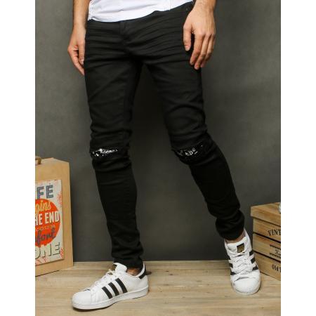 Pánské jeansy černé UX2519