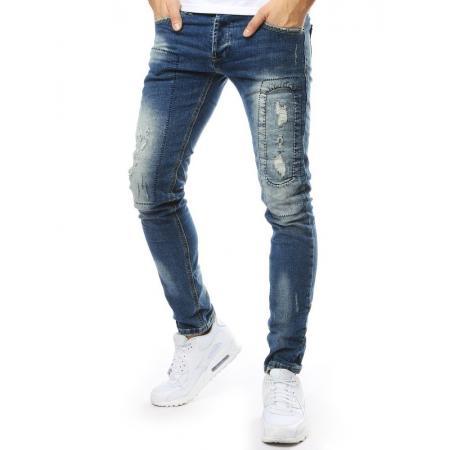 Kalhoty rifle pánské modré