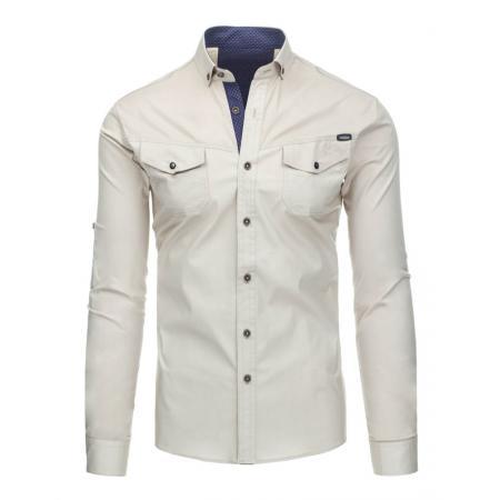 Pánská stylová košile s dlouhým rukávem