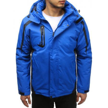 Pánská lyžařská bunda světle modrá