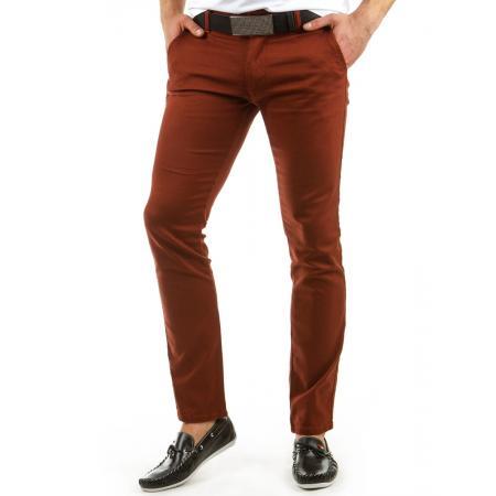 Pánské originální kalhoty cihlové