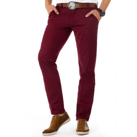 Pánské originální kalhoty bordó