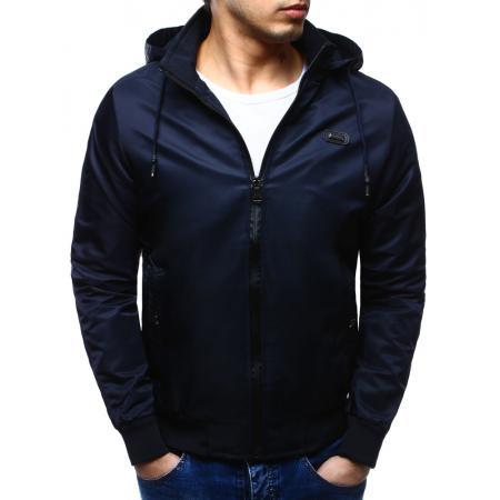 Pánská bunda přechodová tmavě modrá
