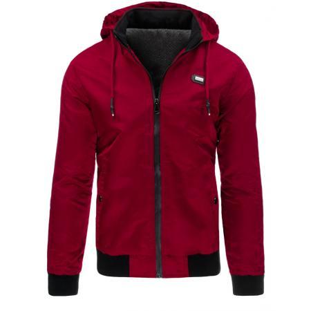 Pánská bunda přechodová červená