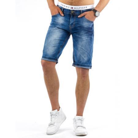 Pánské stylové riflové (džínové) kraťasy