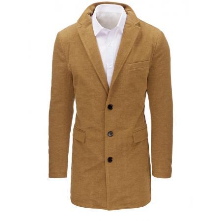 Hnedý pánský kabát