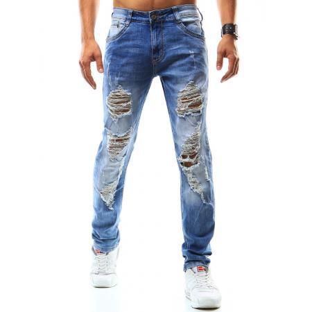 Pánské riflové kalhoty modré