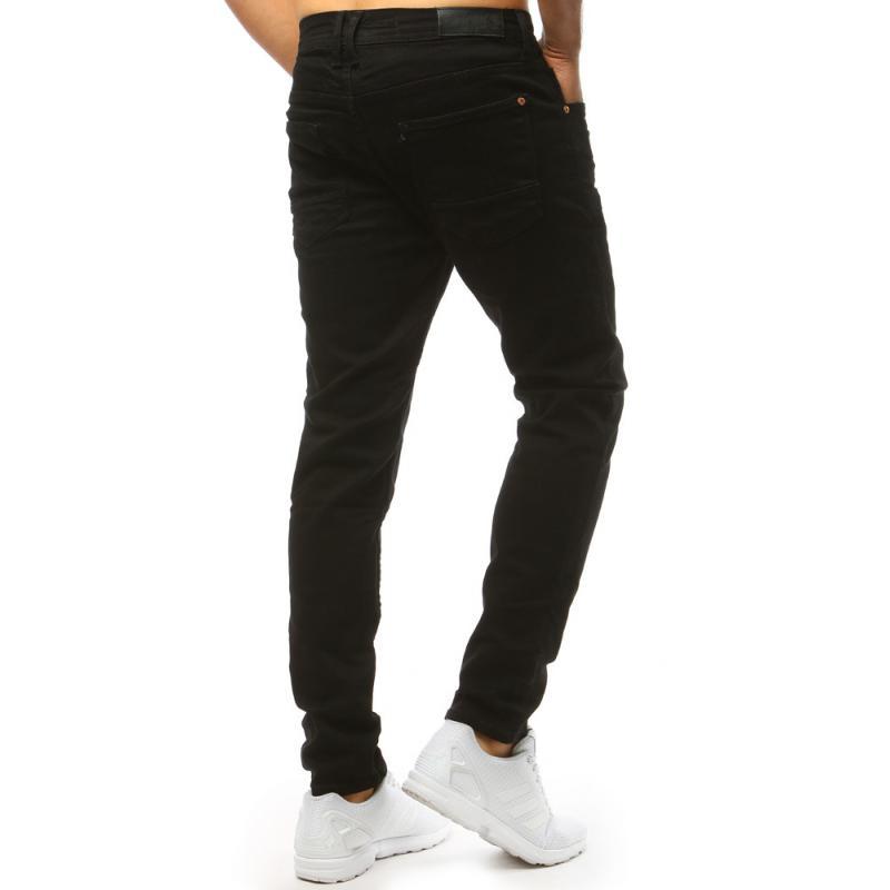 8681ff0472c Černé džínové kalhoty pro muže