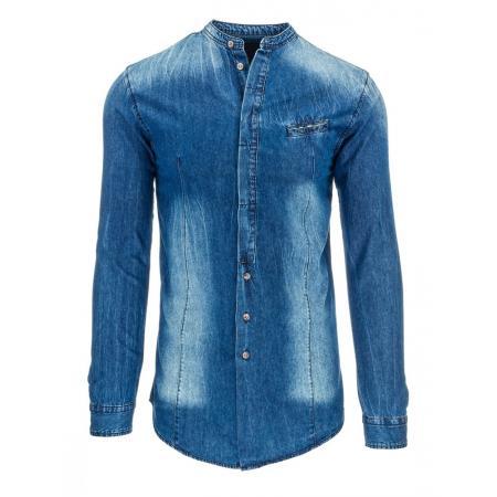 Pánská stylová košile jeansová