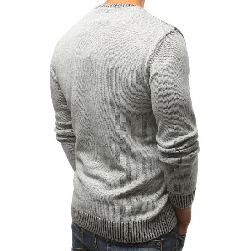 ac5f03c6184 Pánský svetr šedý