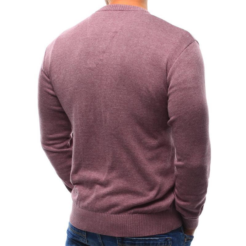 Pánský svetr růžový  6d97aa3ebd