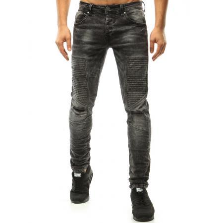 Pánské riflové kalhoty černé