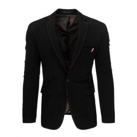 Pánské moderní sako černé