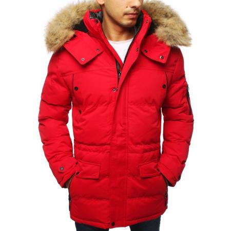 Pánská bunda zimní WINTER červená