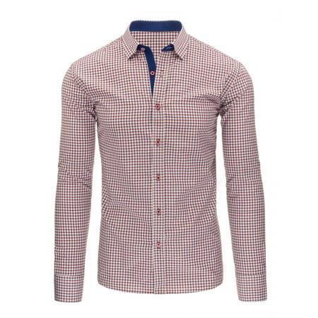 88b20a06bcc Pánská stylová košile modrá s dlouhým rukávemslim fit