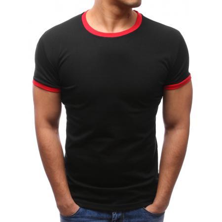 Pánské tričko slim fit černé 363cd92bbe