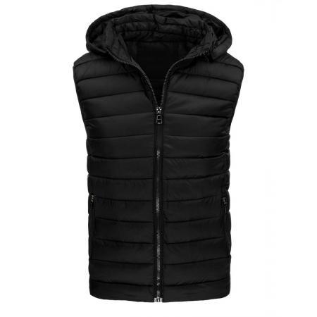 Pánská stylová vesta černá