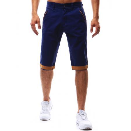 Pánské stylové šortky modré