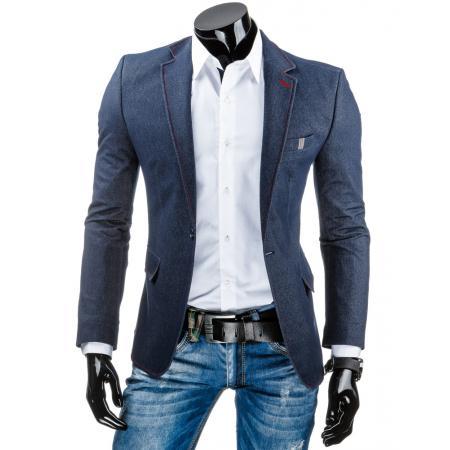 Pánské elegantní modré sako