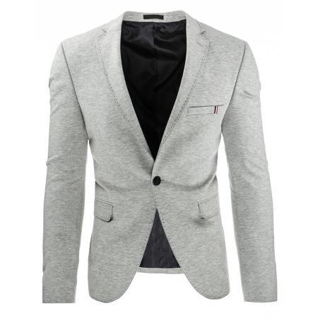 Stylové pánské sako šedé