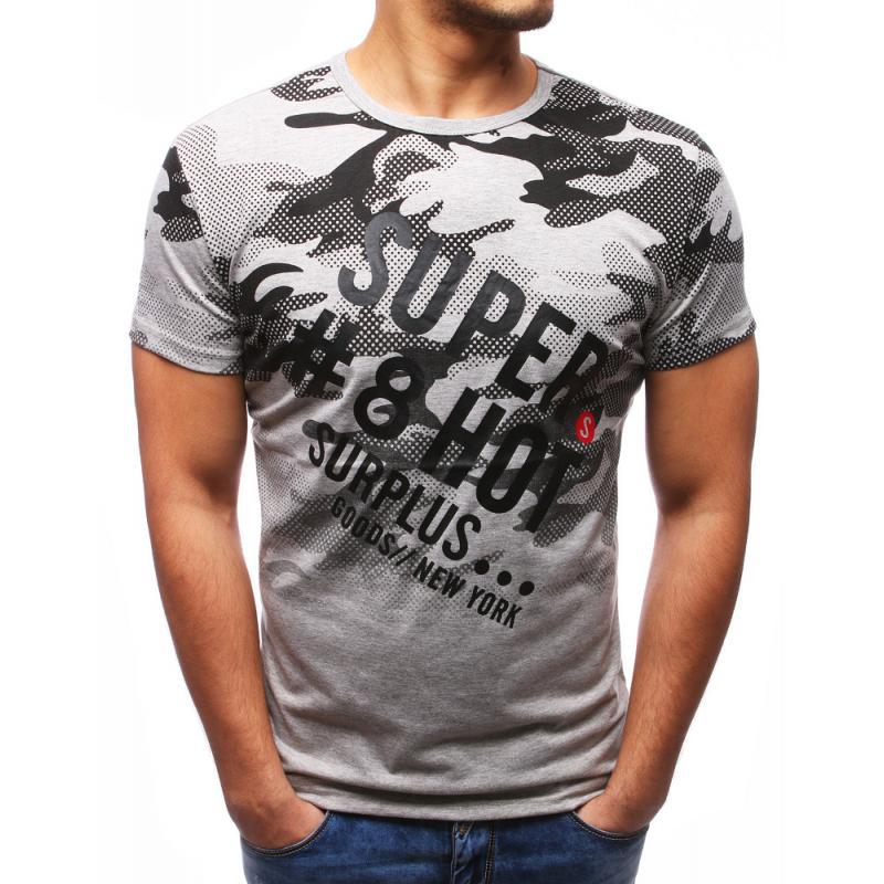 9a88def7ef0 Pánské ORIGINAL tričko s potiskem šedé