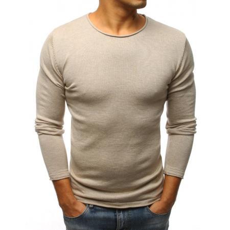Pánský svetr béžový STYLE