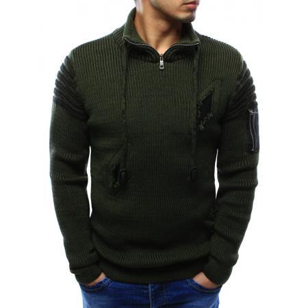 Pánský svetr zelený