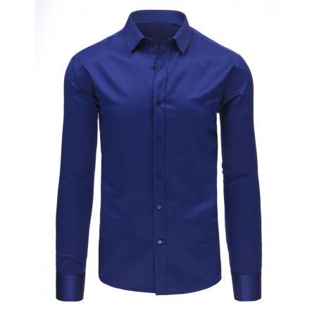 Pánská moderní košile tmavě modrá