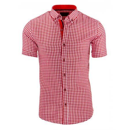 Pánská stylová košile červená