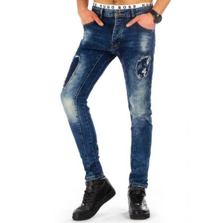 Pánské jeansy světle modré