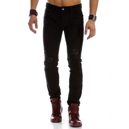 Pánské jeansové kalhoty černé