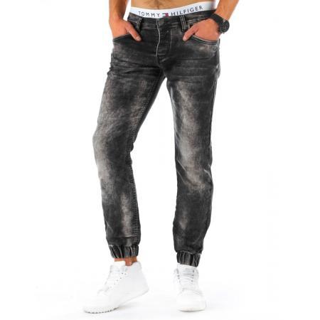 Pánské džínové (jeansové) kalhoty černé