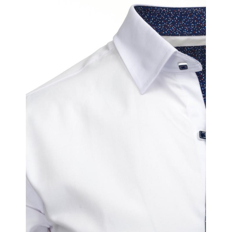 cc884f82180 Elegantní pánská košile v bílé barvě