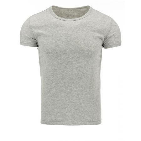 Stylové pánské triko v barvě šedé