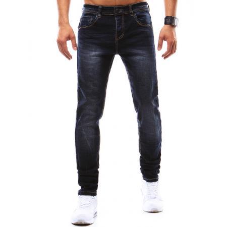 Pánské jeansy tmavě modré
