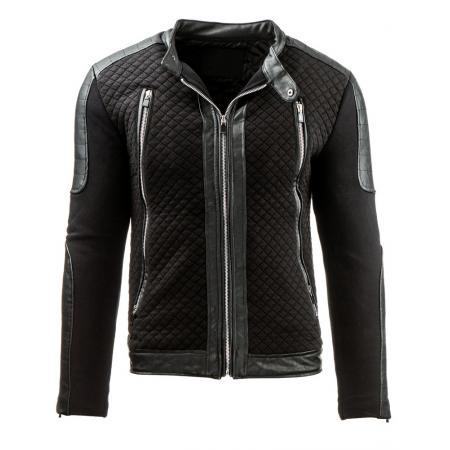 Pánská stylová street bunda černá