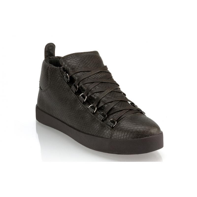 Pánské moderní koženkové boty (tenisky) GOV DENIM 008-3DG grafitové ... ef77c3207fb