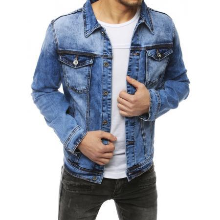 Pánská bunda džínová modrá TX3256