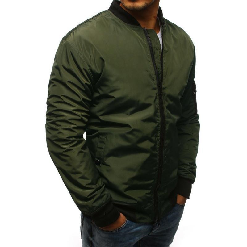 6c14e8d0f642 Pánská NEWSTYLE bunda bomber jacket zelená