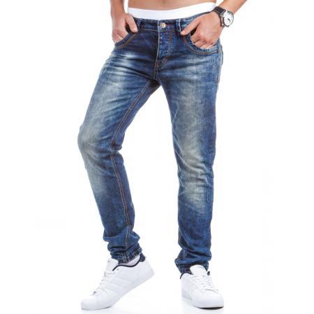 Stylové pánské jeansy (džíny) světle modré