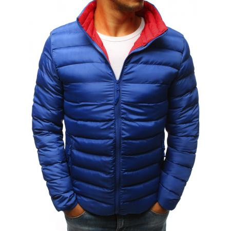 Pánská STYLE bunda prošívaná modrá
