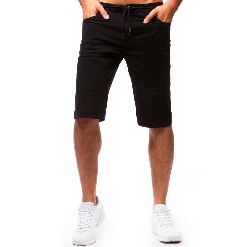 Pánské černé šortky STYLE  300cfa66e0