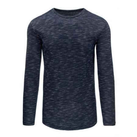 Pánský moderní svetr modrý