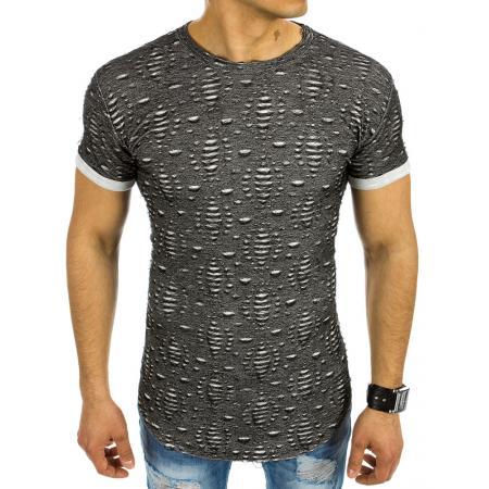 Pánská stylové tričko černé