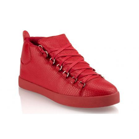 Pánské moderní boty (tenisky) GOV DENIM 008-3RD červené