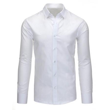 Pánská stylová košile bílá