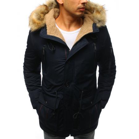 Pánská zimní modrá bunda