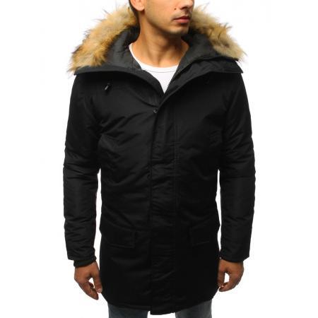 Pánská zimní bunda černá