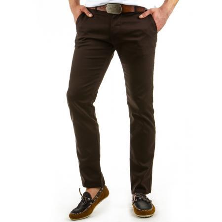 Pánské originální kalhoty hnědé